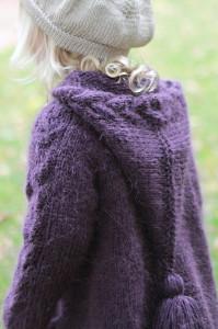 strikkekåpe