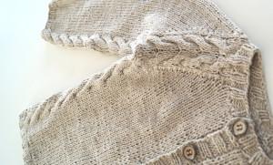 strikkejakke