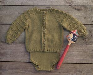 Baby strikkesett