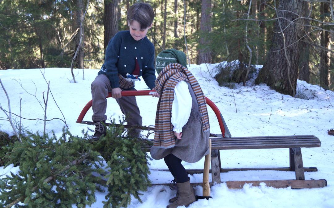 Snømanngenser i mykeste alpakka