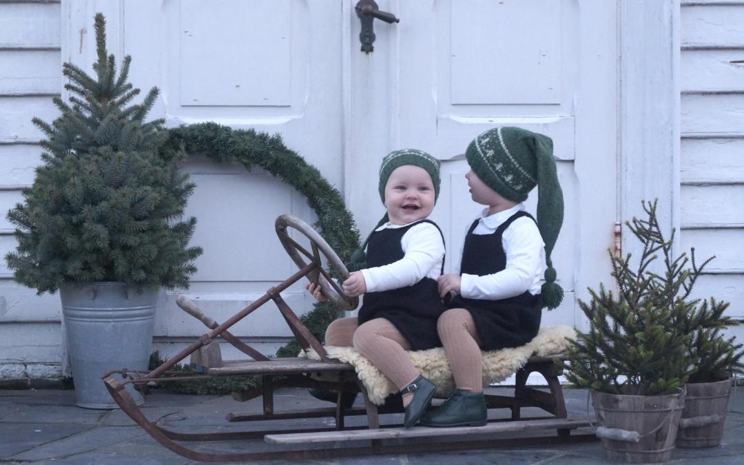 Guttestrikk til mange festelige juledager