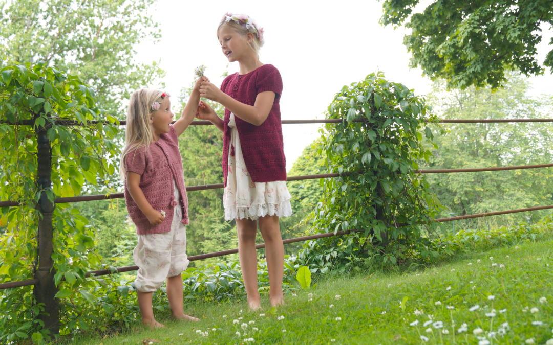 Blomstereng jakke fra Sommerhefte