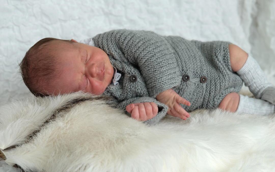 Mathea rillesett til baby