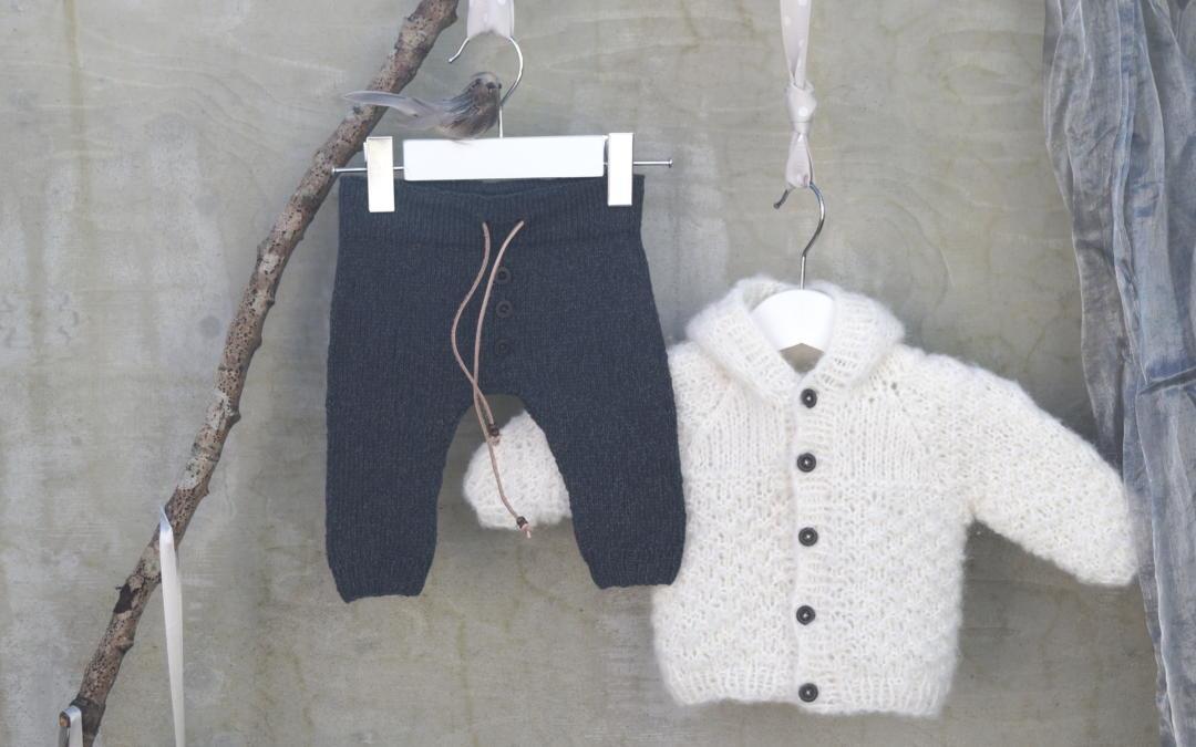 Viggo strikkebukse i nydelig i Tynn Line