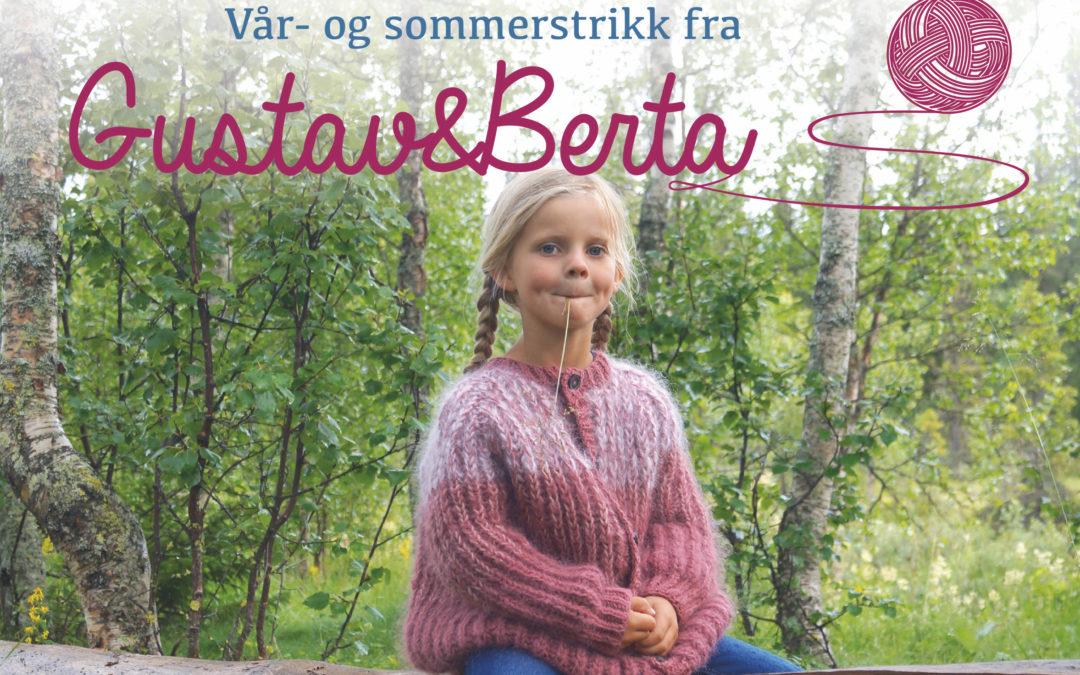 Vår -og sommerstrikk fra Gustav&Berta