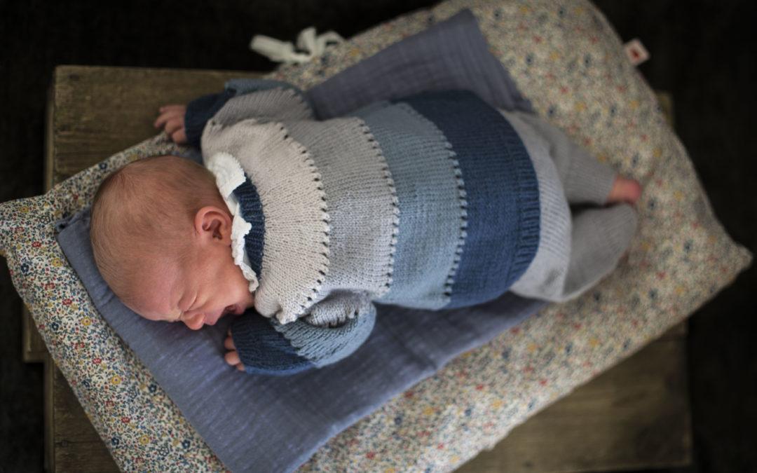Skatten min strikkesett til baby