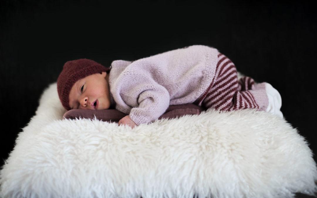 Hjertevenn strikkesett til baby