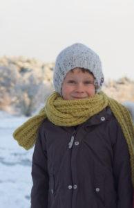 strikket tilbehør