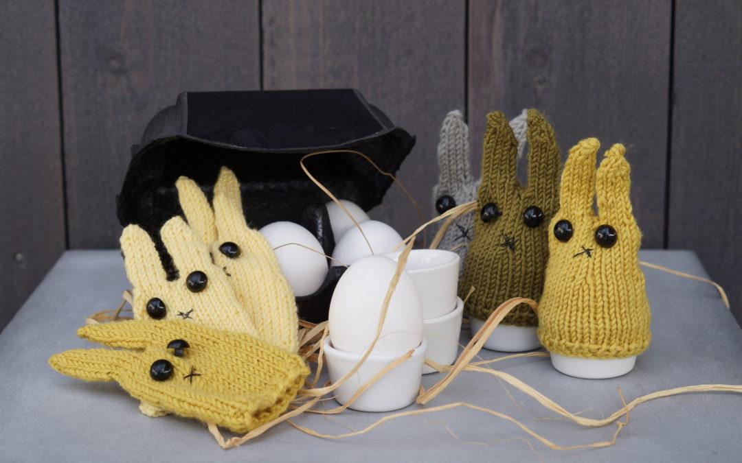 Restegarnsprosjekt blir søte kaniner