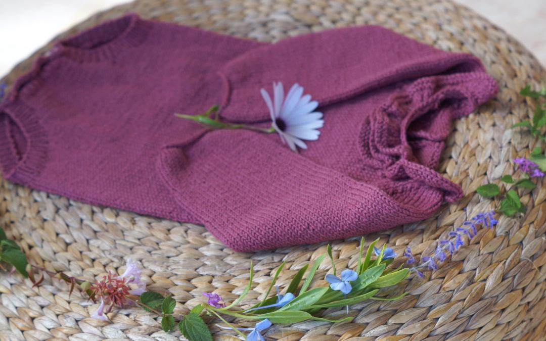 Blomsterbody med krage til små, livlige krabater